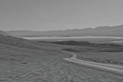 Photograph - Winding Road, Death Valley, California by Frank DiMarco