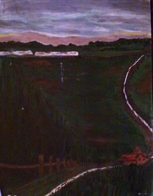 Painting - Winding Road by Helen Vanterpool
