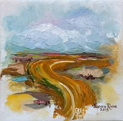 Painting - Winding Road by Judith Rhue