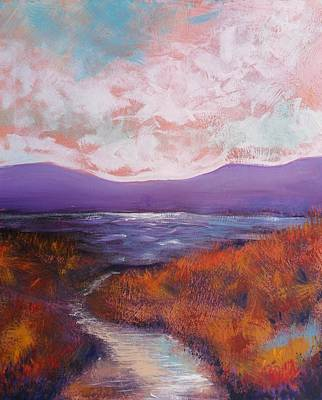 Painting - Winding Road To The River by Skye Taylor