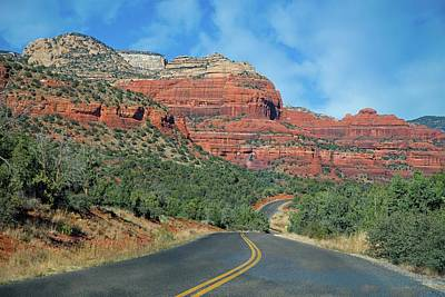 Photograph - Winding Roads Near Sedona by Lynn Bauer