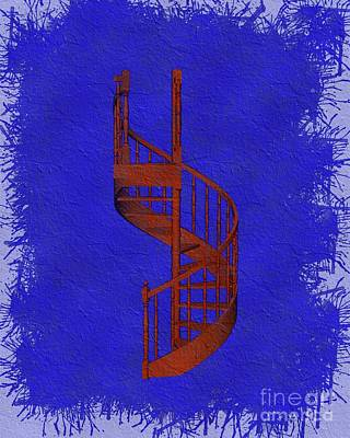 Royalty-Free and Rights-Managed Images - Winding Staircase - Freemasonic Symbolism by Esoterica Art Agency