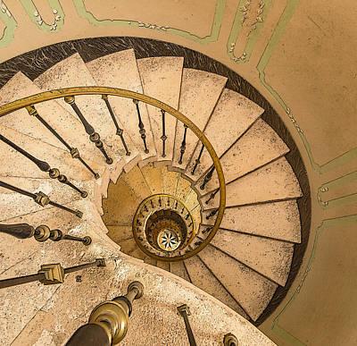 Winding Stairs Art Print by Greg Thiemeyer