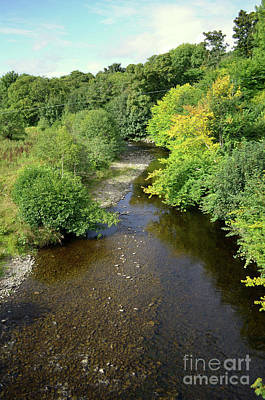 Photograph - Winding Stream In Inverness Scotland's Countryside by DejaVu Designs