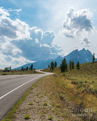 Photograph - Winding Through The Tetons by Sharon Seaward