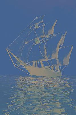Windjammer Art Print
