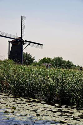 Photograph - Windmill 1 Netherlands by Phyllis Spoor