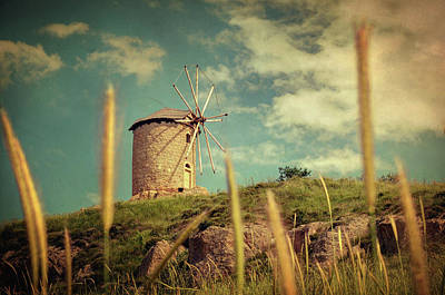 Photograph - Windmill 14 48 by Taylan Apukovska