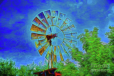 Photograph - Windmill 152 by Ray Shrewsberry