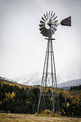 Photograph - Windmill by Aaron Spong