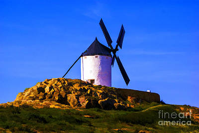 Photograph - Windmill Alone by Rick Bragan