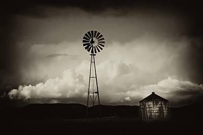 Windmill And Tank Original