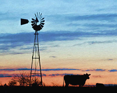 Photograph - Windmill Art -008 by Rob Graham