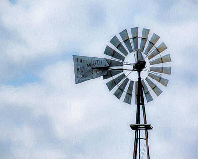 Photograph - Windmill Art -010 by Rob Graham