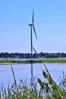 Photograph - Windmill At Lewes Delaware by Kim Bemis