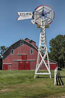 Photograph - Windmill At Scouts Rest Ranch by Susan Rissi Tregoning