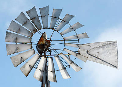 Photograph - Windmill Blades by Todd Klassy