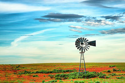 Photograph - Windmill by Dee Browning