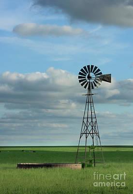 Photograph - Windmill by E B Schmidt