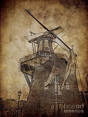 Windmill H Art Print by Gabor Gabriel Magyar - Forgottenangel