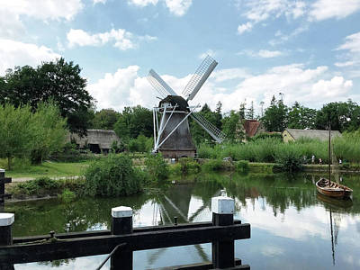 Photograph - Windmill - Holland by Doc Braham