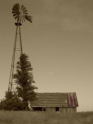 Photograph - Windmill II by Dylan Punke