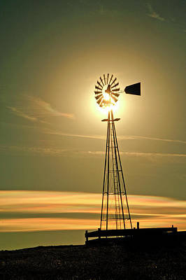Photograph - Windmill In Colorado by James Steele