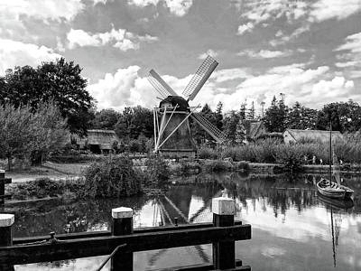 Photograph - Windmill In Holland by Doc Braham