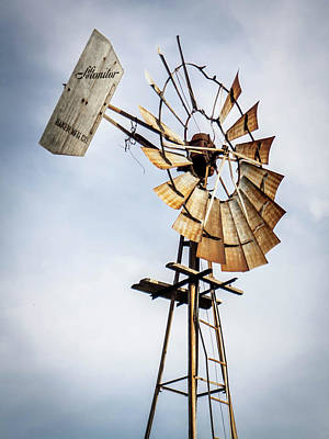 Photograph - Windmill In The Sky by Dawn Romine