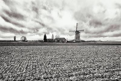 Terrene Photograph - Windmill by Jaroslav Buna