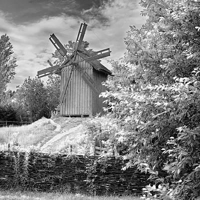 Photograph - Windmill. Mamayeva Sloboda, Kyiv, 2010. by Andriy Maykovskyi