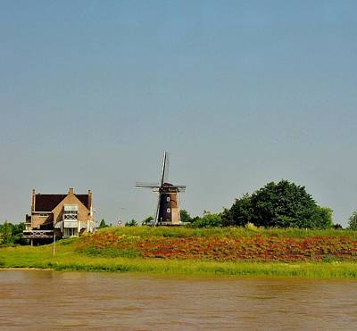 Photograph - Windmill Neatherlands 1 by Phyllis Spoor