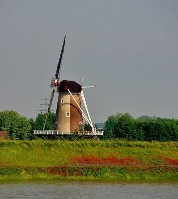 Photograph - Windmill Neatherlands 2 by Phyllis Spoor