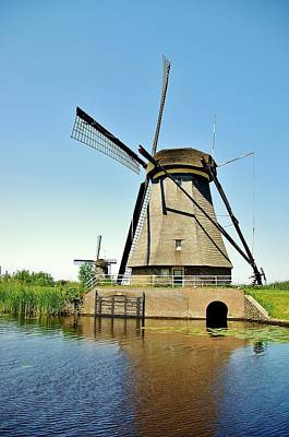 Photograph - Windmill Neatherlands 3 by Phyllis Spoor