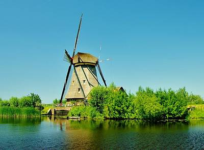 Photograph - Windmill Neatherlands 4 by Phyllis Spoor