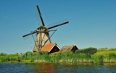 Photograph - Windmill Neatherlands 5 by Phyllis Spoor