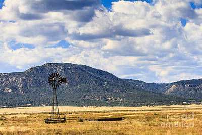 Photograph - Windmill New Mexico by Ben Graham