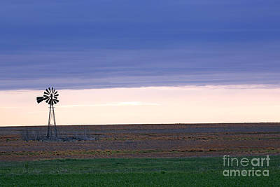 Photograph - Windmill On The Prairie by Betty Morgan