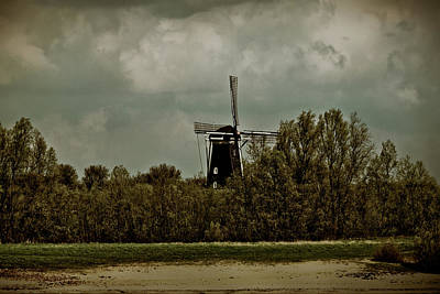 Photograph - Windmill On The Rhine by Jill Smith