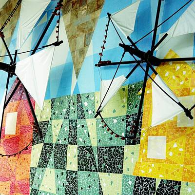 Photograph - Windmill Sails by Dora Hathazi Mendes