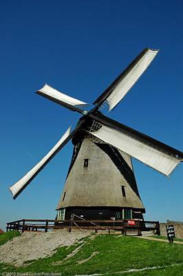 Photograph - Windmill Schermer by Francois Dumas