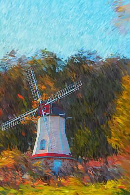 Photograph - Windmill Series 1102 by Carlos Diaz