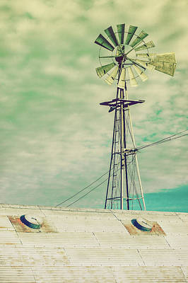 Ranching Photograph - Windmill Stain by Todd Klassy