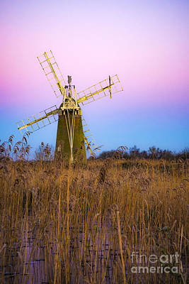 Windmill Art Print by Svetlana Sewell