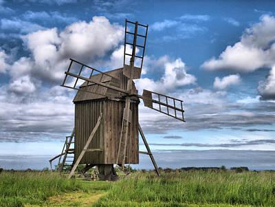 Jouko Lehto Royalty-Free and Rights-Managed Images - Windmills 3 by Jouko Lehto