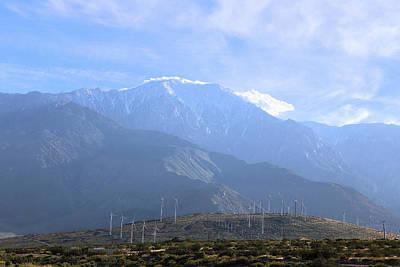Photograph - Windmills At San Jacinto Mt by Viktor Savchenko