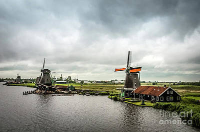 Photograph - Windmills At Zaanse Schans  by RicardMN Photography