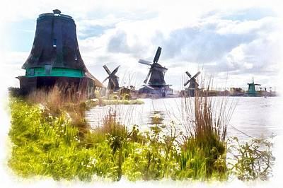 Photograph - Windmills by Eva Lechner