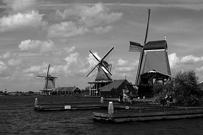Photograph - Windmills Of Holland  by Aidan Moran