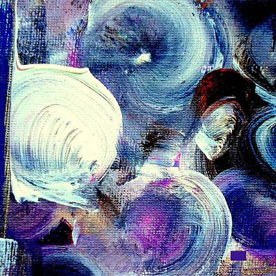 Abstract Windmill Painting - Windmills Of My Mind by VIVA Anderson